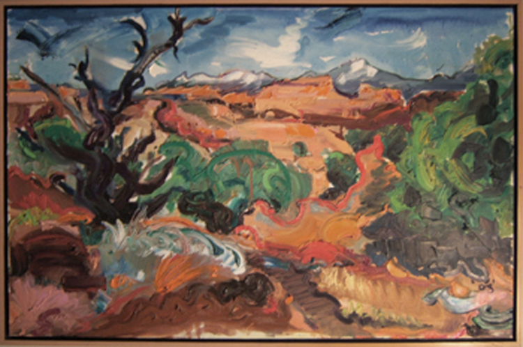 "SOLD L035 2004 'The Egypt, Escalante, Utah' 36""x24"""