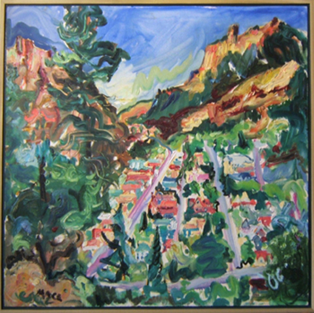 "SOLD L044 2006 'Ouray' 30""x30"""