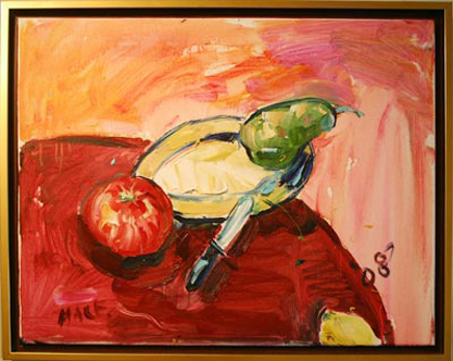 "S044 2008 'Floating Fruit' 20"" x 16"""