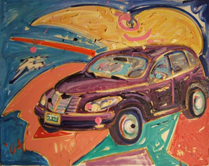 SOLD SL031 2004 'PT Cruiser' 20x16""